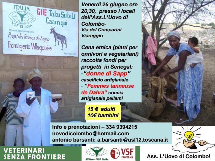 Cena raccolta fondi per Senegal_Giugno2015